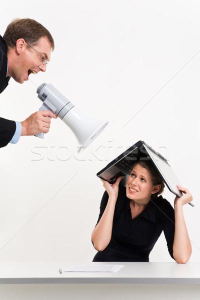 Zdjęcia stock: Działalności · relacja · portret · szef · kobieta