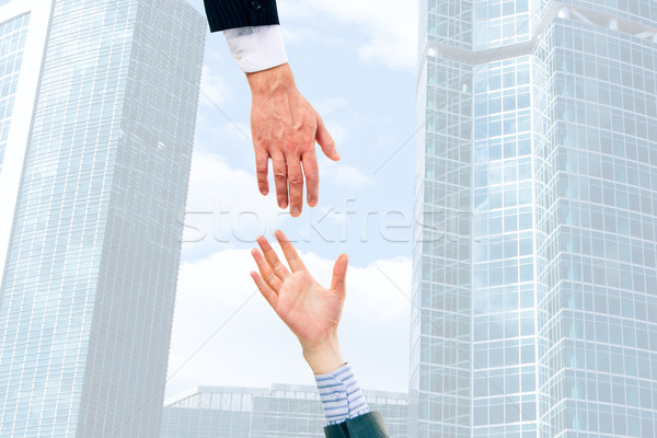 Giving hands  Stock photo © pressmaster