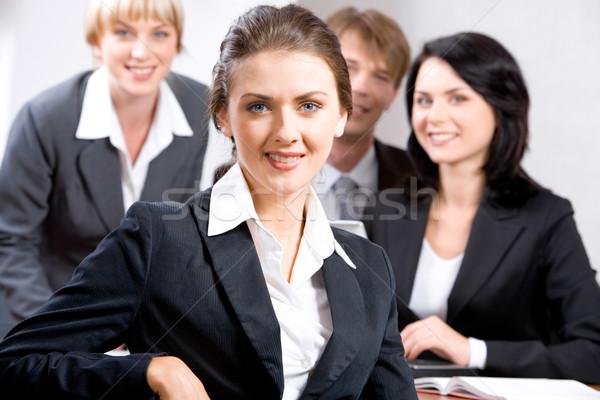 Confident leader Stock photo © pressmaster