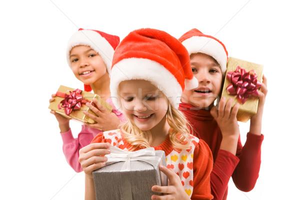 Looking at present Stock photo © pressmaster