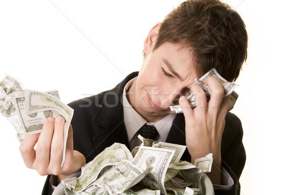 The money has simply vanished Stock photo © pressmaster