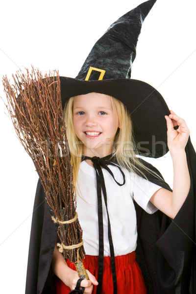 Little witch Stock photo © pressmaster
