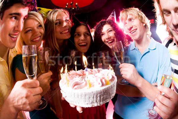 During birthday Stock photo © pressmaster