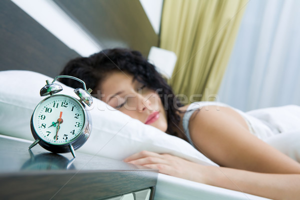 Stock photo: Time to wake up