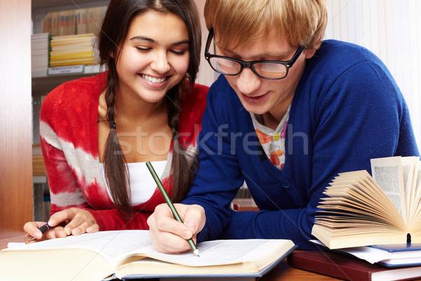 Working together Stock photo © pressmaster