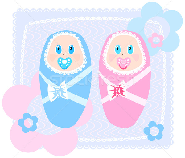 new-born babies  Stock photo © pressmaster