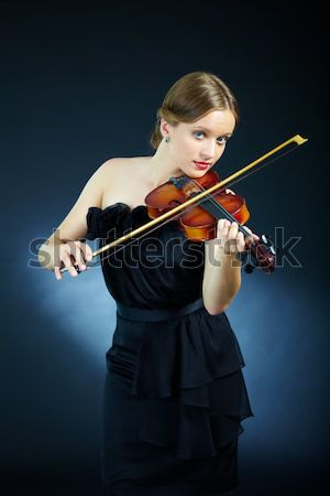 Gorgeous violinist Stock photo © pressmaster