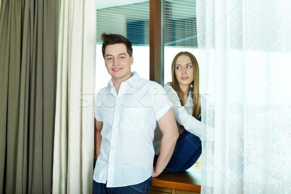 Smart couple Stock photo © pressmaster