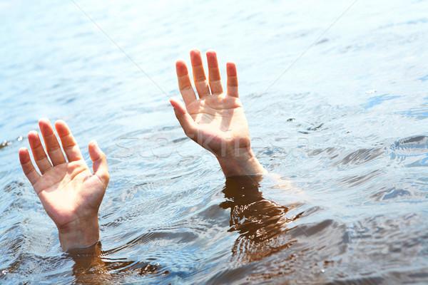 Sinking Stock photo © pressmaster