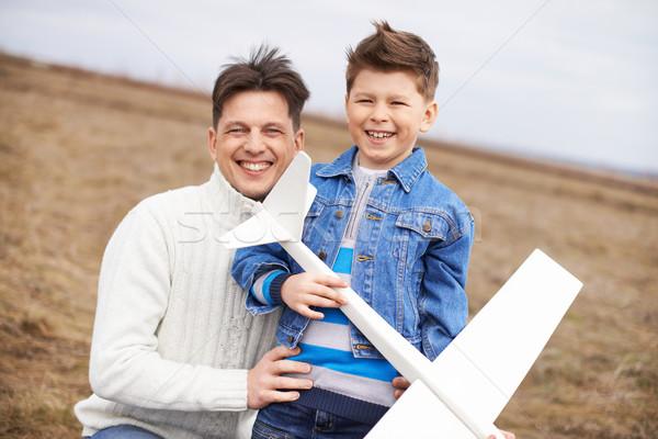 Father and son Stock photo © pressmaster