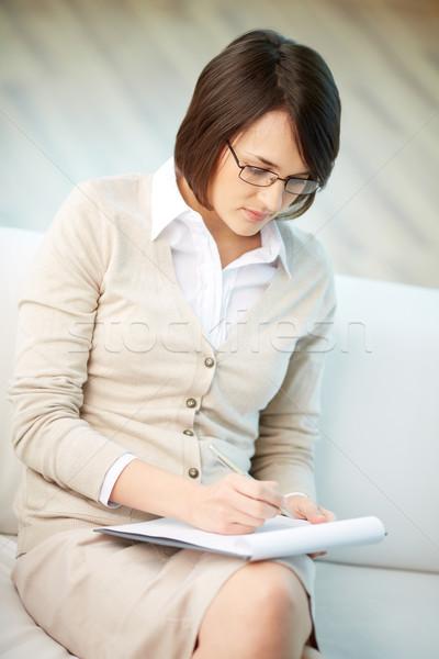 Pessoal conselheiro vertical imagem profissional Foto stock © pressmaster