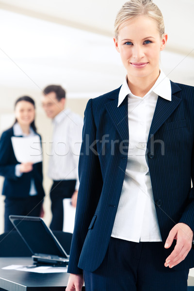 Stock photo: Confident woman