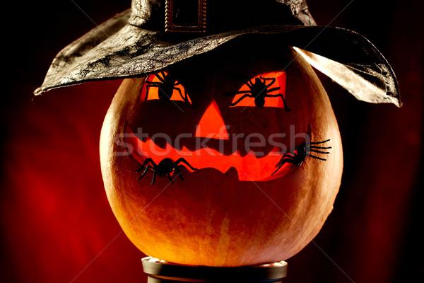 Evil pumpkin Stock photo © pressmaster