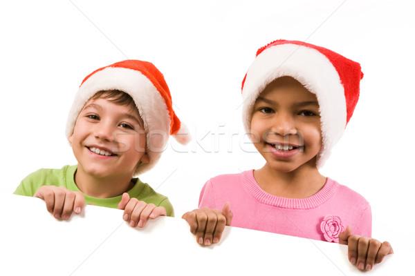 Two kids Stock photo © pressmaster