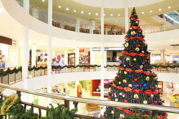 Firtree in the shopping center Stock photo © pressmaster