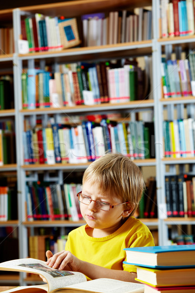 Library goer Stock photo © pressmaster