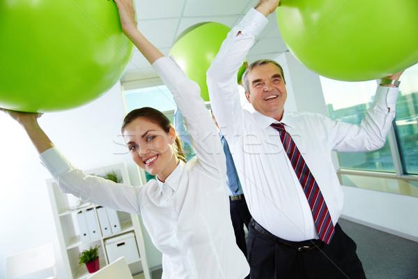 Business fun Stock photo © pressmaster