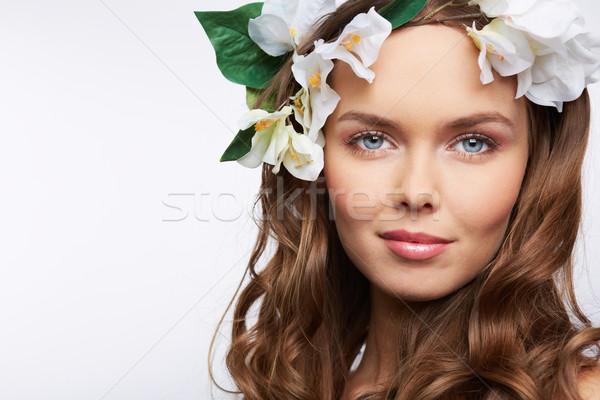 Spring smile Stock photo © pressmaster