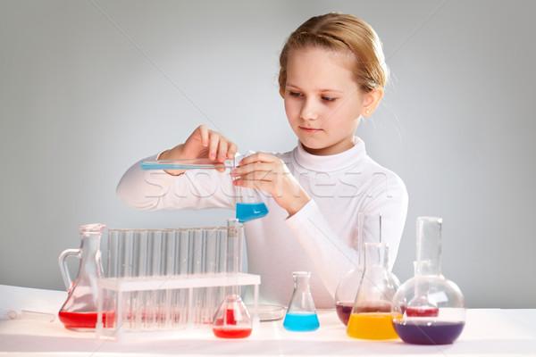 At the school lab Stock photo © pressmaster