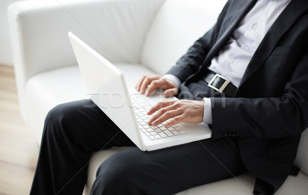 Online work Stock photo © pressmaster