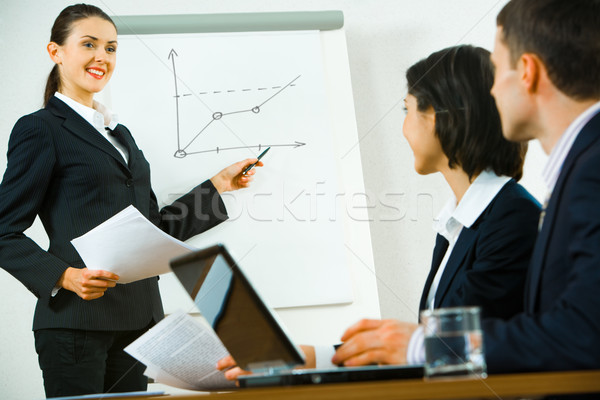 Stock photo: Business briefing