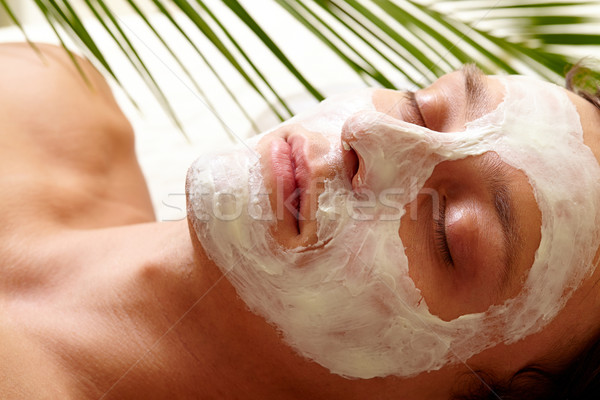 Clearing skin Stock photo © pressmaster