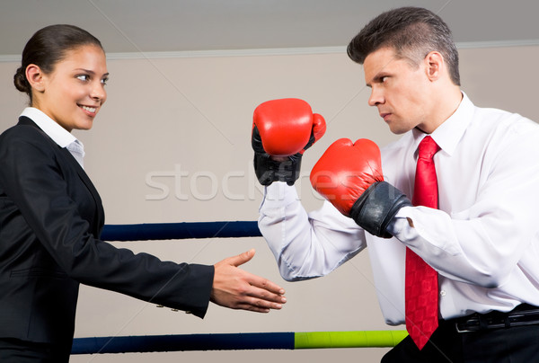 Stock photo: Opposition