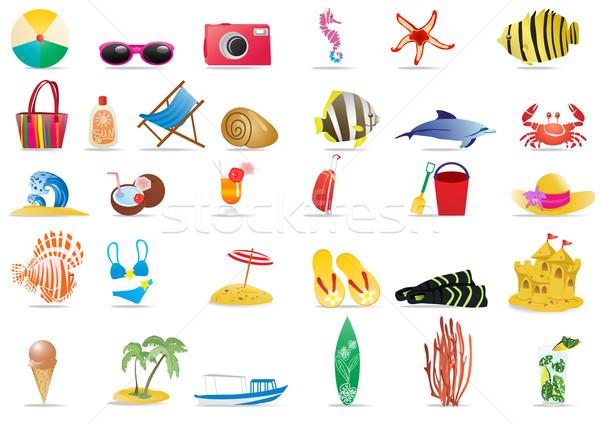 sun-sea-and-beach     Stock photo © pressmaster