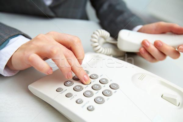 Wishing to call Stock photo © pressmaster