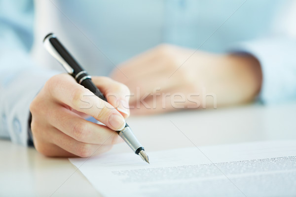 Contract Stock photo © pressmaster