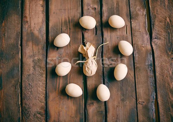 Huevo círculo huevos de Pascua uno papel Foto stock © pressmaster