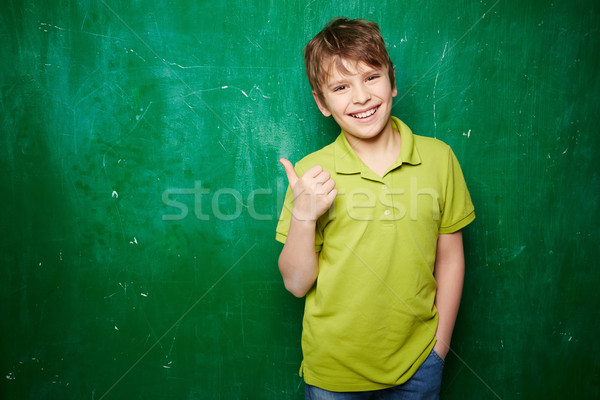 Successful schoolkid Stock photo © pressmaster