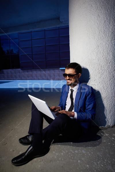 Networking outside Stock photo © pressmaster