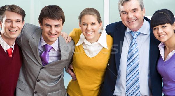 Portret geslaagd managers ander naar Stockfoto © pressmaster