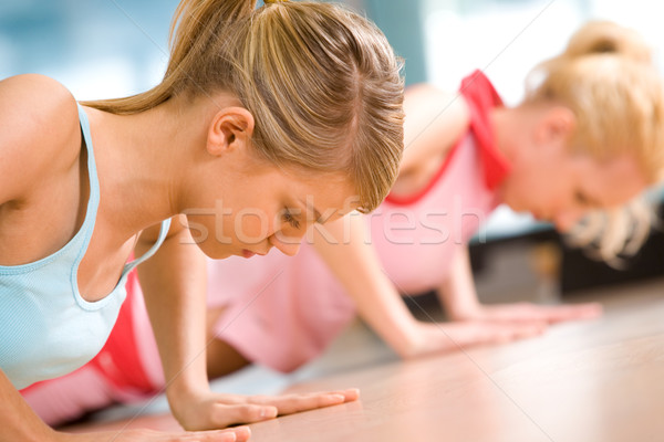 Difficult exercise Stock photo © pressmaster