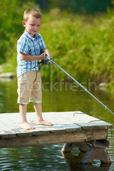 Little fisher Stock photo © pressmaster
