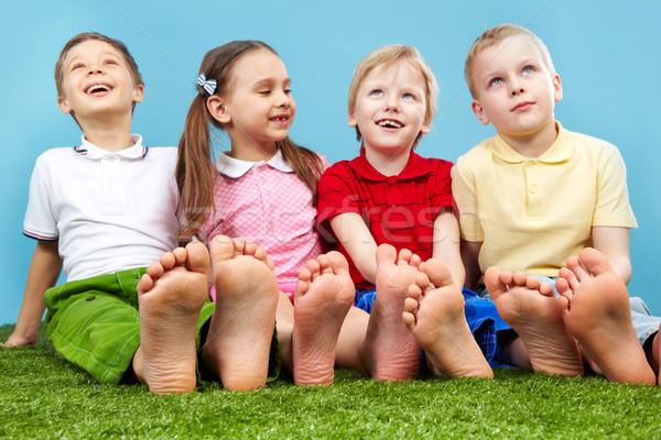 Group of kids Stock photo © pressmaster