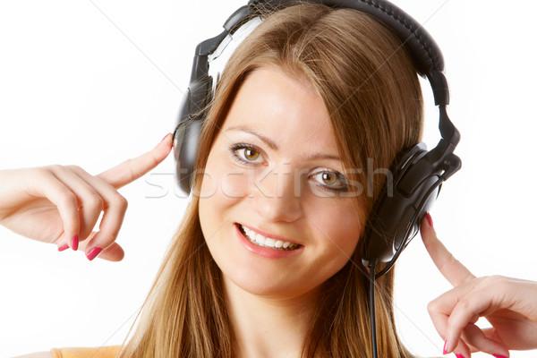 Music pause Stock photo © pressmaster