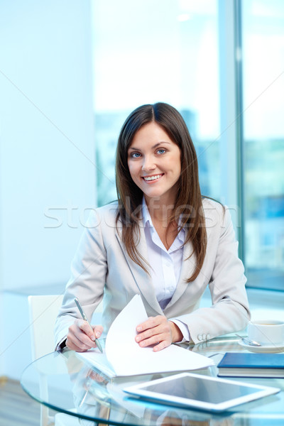 Friendly employer Stock photo © pressmaster