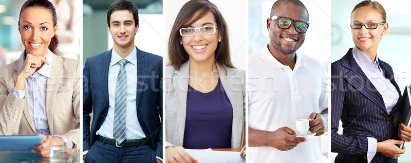 Elegant business people Stock photo © pressmaster
