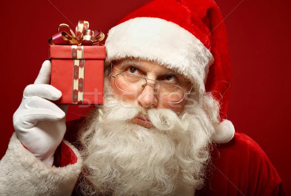 Curious Santa Stock photo © pressmaster