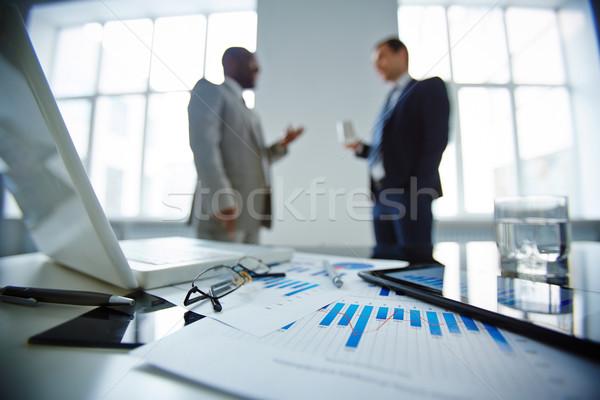 オフィス 生活 画像 眼鏡 ガラス 水 ストックフォト © pressmaster
