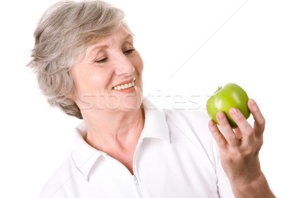 I adore apples Stock photo © pressmaster