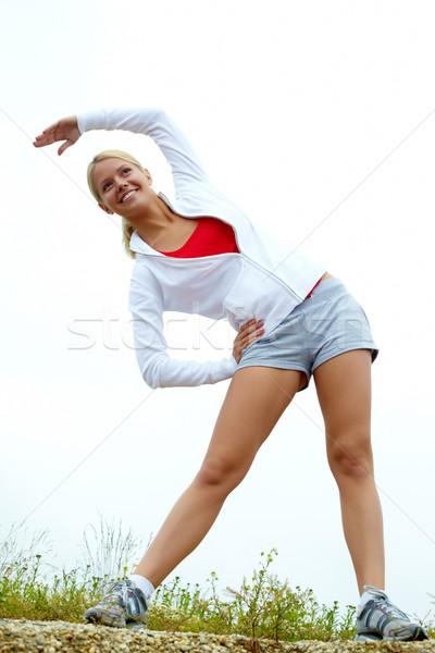 Stock photo: Outdoor fitness
