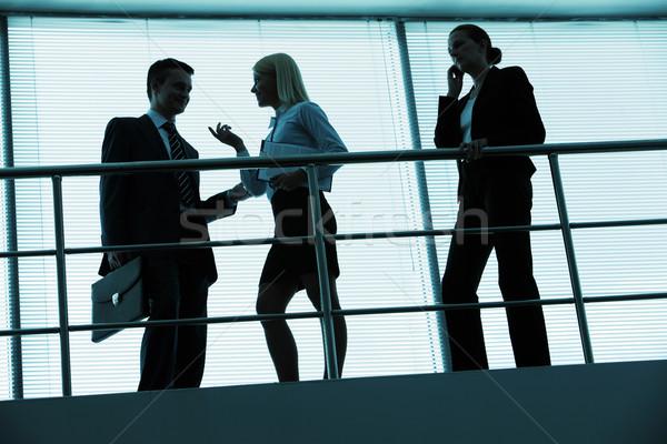 Insanlar ofis üç İş ortaklarımız iş Stok fotoğraf © pressmaster