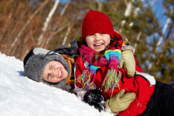 Playful friends Stock photo © pressmaster