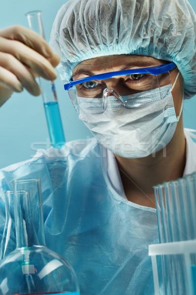 Female scientist Stock photo © pressmaster