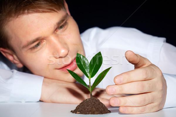 Nature needs you Stock photo © pressmaster