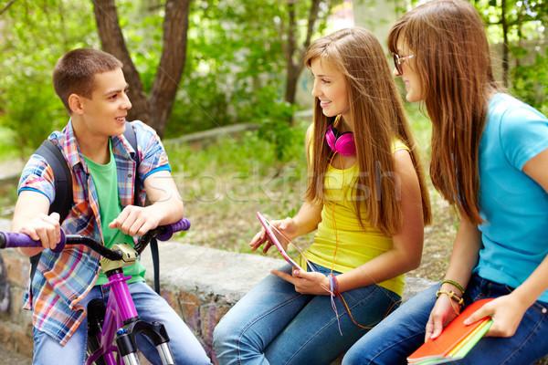 Hey girls! Stock photo © pressmaster