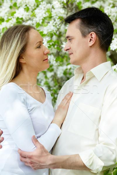 Couple in park Stock photo © pressmaster